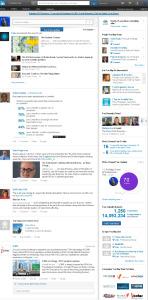 LinkedIn Homepage 5-15-14