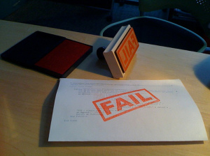 fail stamp - hans.gerwitz