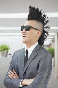 Punk in Suit