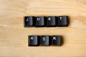 Just ask keyboard