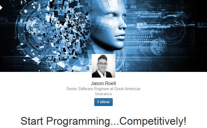 Start Programming...Competitively! - Jason Roell - LinkedIn 2015-06-29 13-50-09