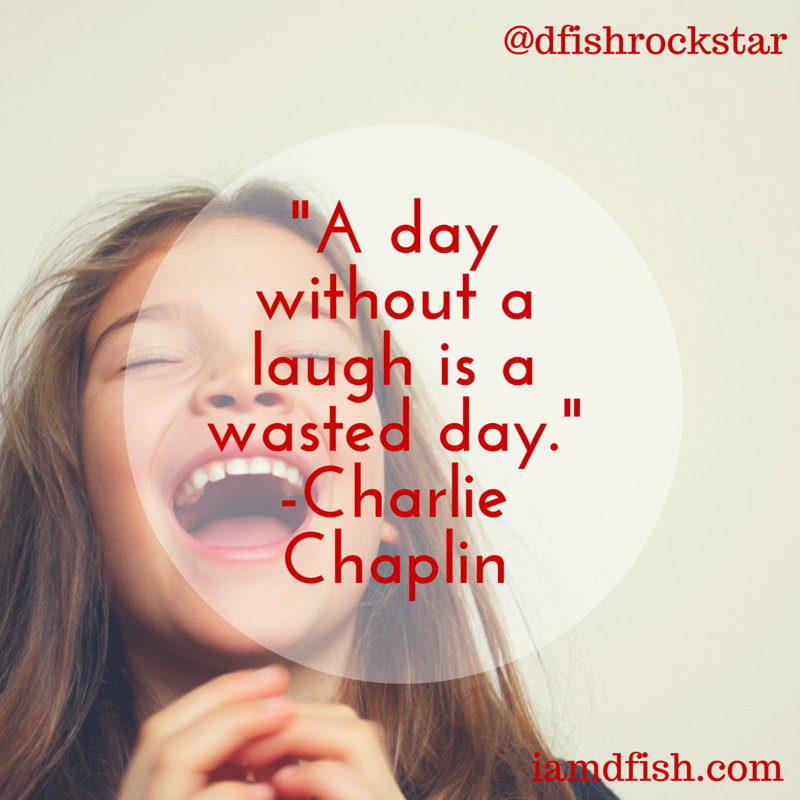 Laughter Quote - Chaplin