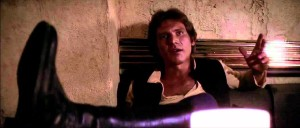 Han Solo in Mos Eisley