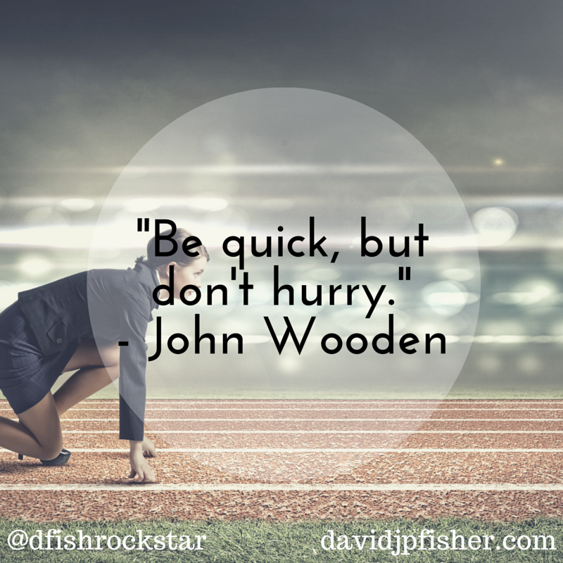 Be Quick - Wooden