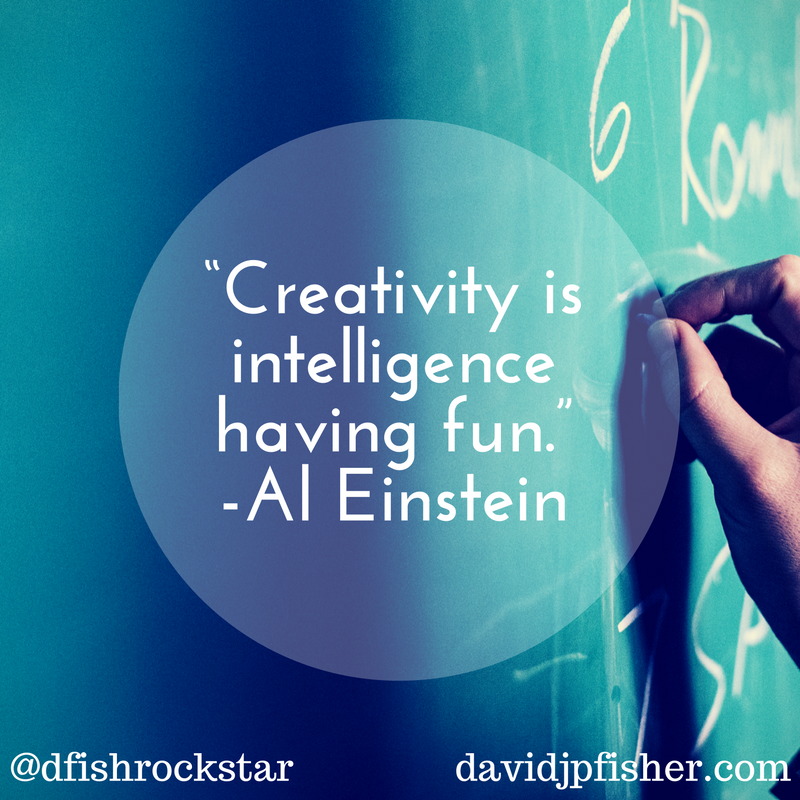 Creativity Einstein