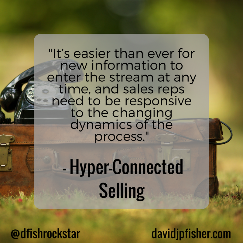 Hyper-Connected Selling Idea #18 - David J P  Fisher