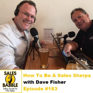 How to be a Sales Sherpa with Pat Helmers on the Sales Babble Podcast