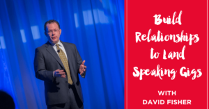 Build Relationships to Land Speaking Gigs with Michelle Mazur on the Rebel Speaker Podcast